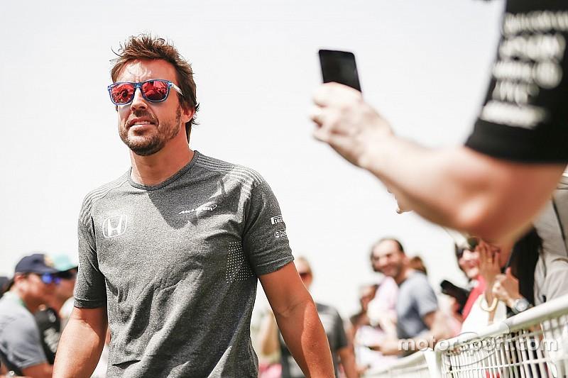 阿隆索5月3日为Indy 500进行测试