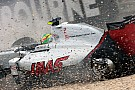 Gutierrez says chassis damaged by crane, not by Alonso