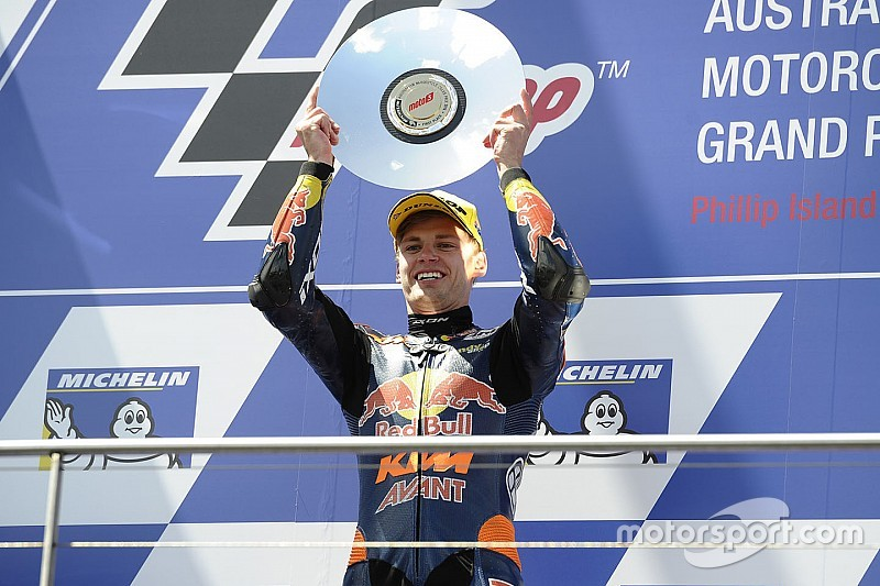 Australian Moto3: Binder wins crash-affected race at Phillip Island