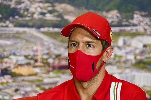 """F1: Vettel fala em """"mistura de emoções"""" ao ver Hamilton quebrar recorde de Schumacher"""
