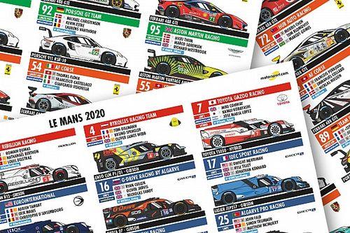 Téléchargez votre guide des engagés aux 24H du Mans !