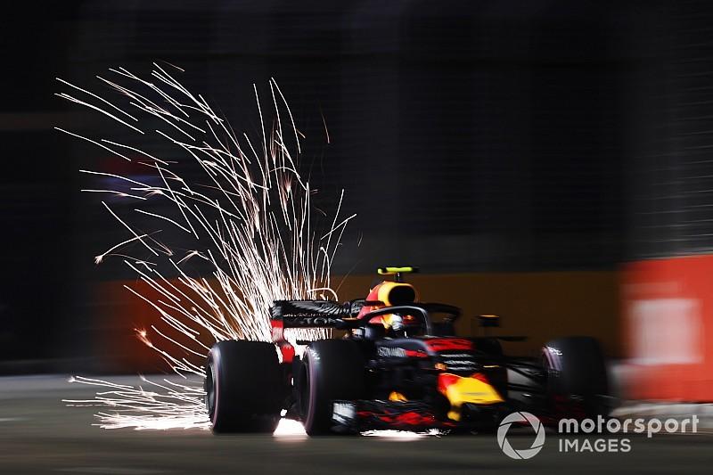 Un corte en el motor le impidió a Verstappen luchar por la pole