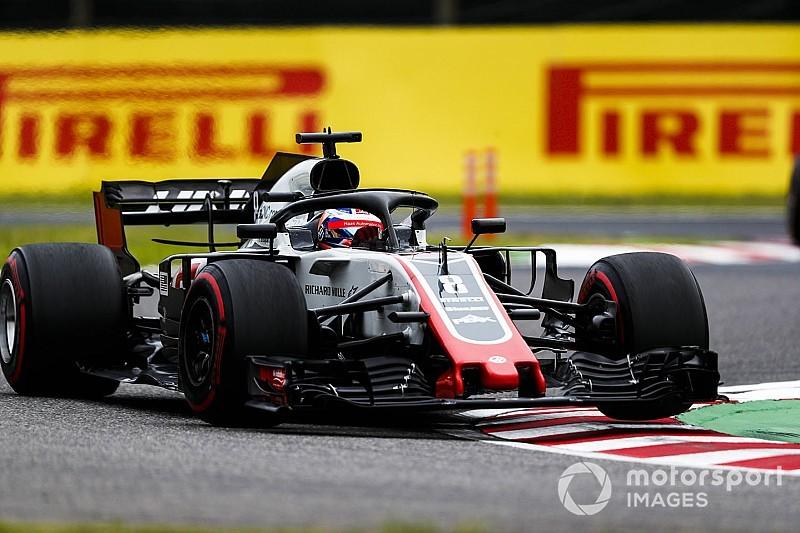 Grosjean estuvo cerca de seguir la estrategia de neumáticos de Ferrari en Japón
