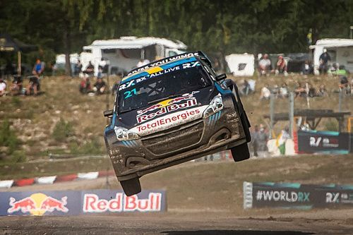 Sweden WRX: Timmy Hansen beats brother Kevin at home