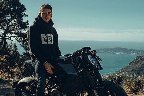 """Leclerc """"consulente"""" moto Bad Winner per la Apex 2.0"""