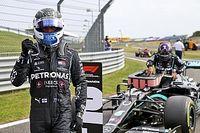 Mercedes y Bottas dominan la calificación del GP del 70 aniversario
