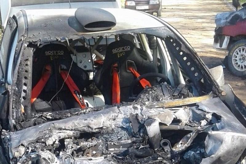 Лукьянюк попал в аварию на тестах, штурман другой машины погиб
