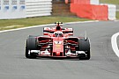 Formula 1 External damage caused Raikkonen British GP tyre problem