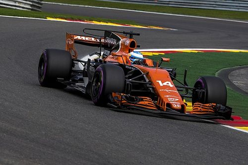 Honda system confused by Alonso taking Pouhon flat