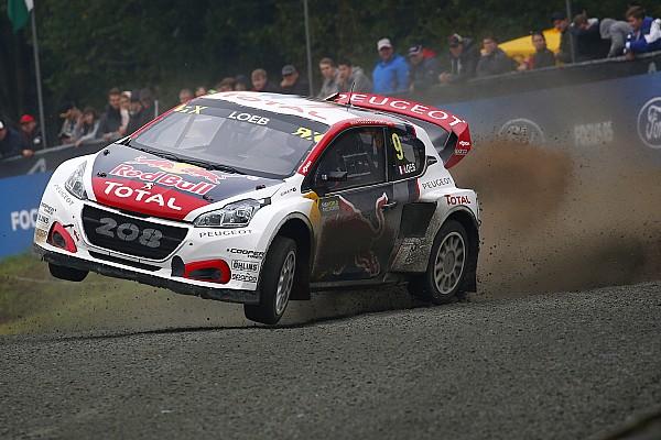 Peugeot en Loeb ook volgend seizoen actief in WRX
