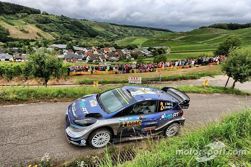 WRC Duitsland: Tanak behoudt voorsprong van 21 seconden