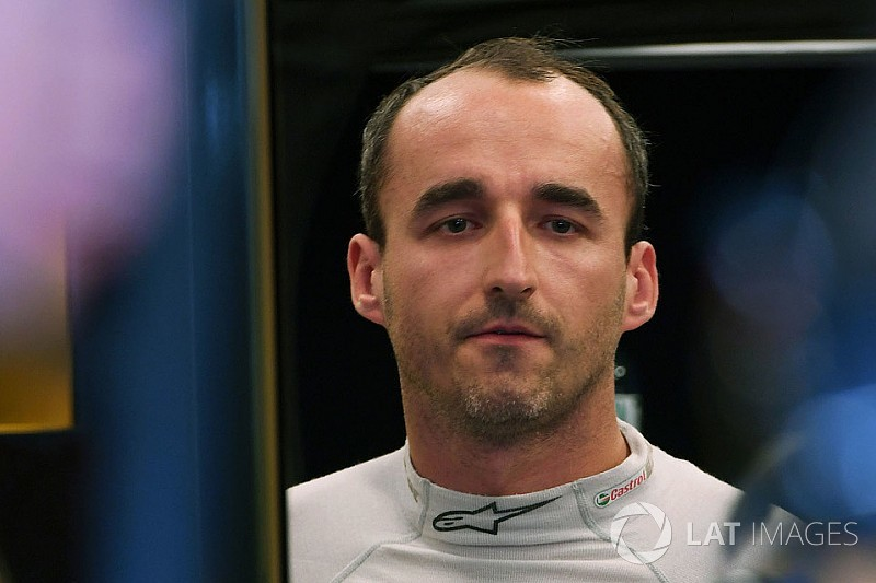 Williams: Robert Kubica ist