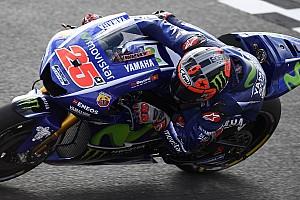 """MotoGP Noticias Viñales: """"Rossi es un mago del agua; si estoy delante de él es que hice un buen trabajo"""""""