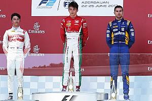FIA F2 Relato da corrida Leclerc vence corrida 1 encurtada por bandeira vermelha