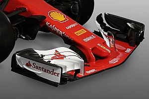 Gallery: F1 Ferrari SF70H in full detail