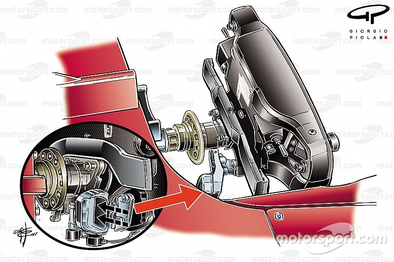 Ferrari's new start system revealed at Spanish GP