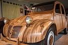 Auto Découvrez une 2 CV... en bois!