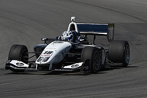 Indy Lights Practice report Kaiser leads Urrutia in Indy Lights practice