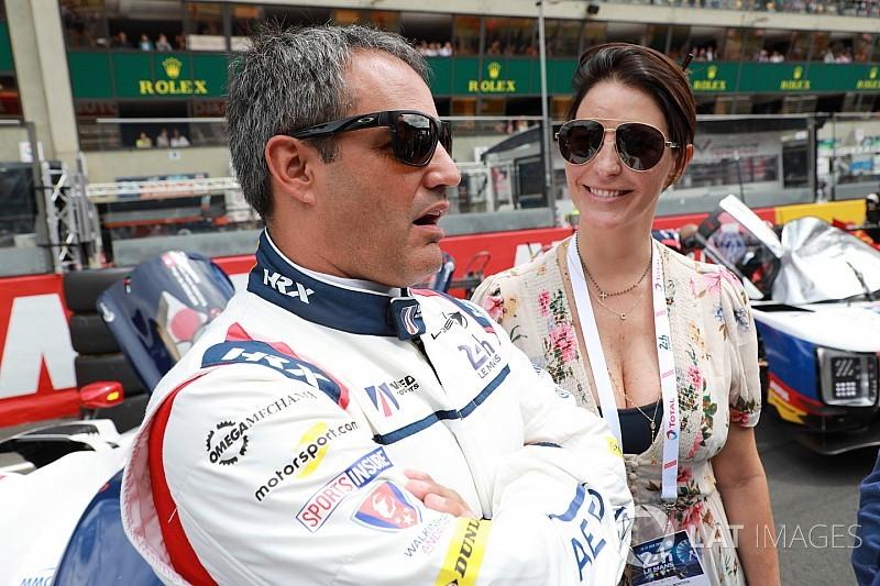 Montoya se molestó por el accidente en Le Mans