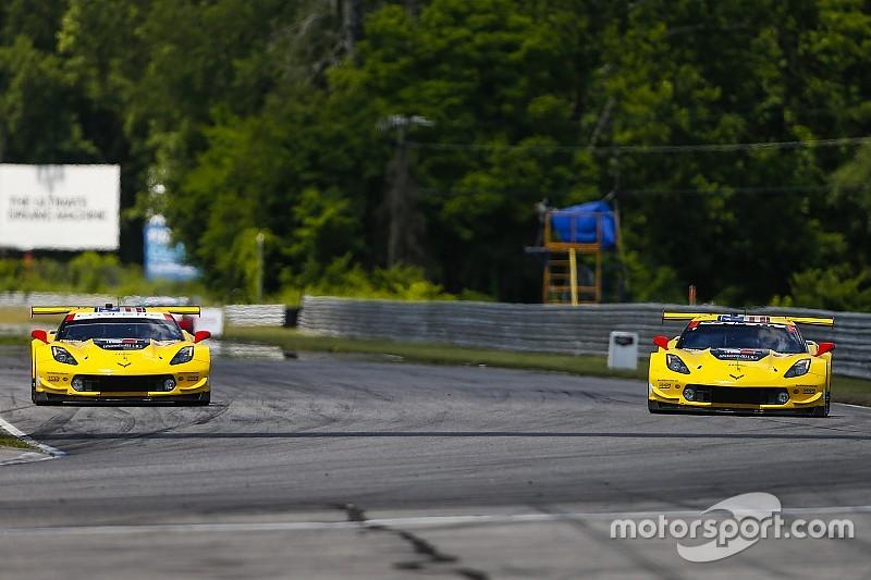 Corvette squad explains late-race double position switch