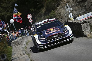 WRC Etappenbericht WRC Rallye Frankreich 2018: Ogier baut Führung aus, Dreikampf um Platz zwei