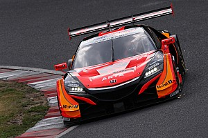 Super GT Qualifying report Suzuka Super GT: ARTA Honda scores pole, Button on front row
