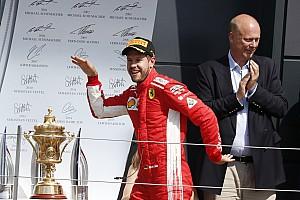 Formula 1 Race report British GP: Vettel wins, Hamilton second despite Raikkonen clash