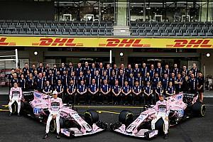 Force India anunciará su nuevo nombre el 25 de febrero