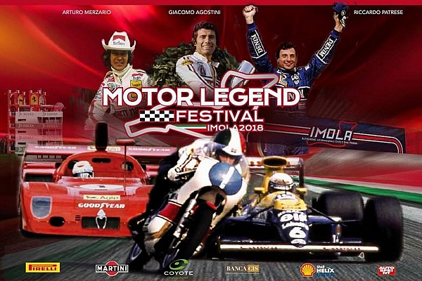 MotorLegendFestival: a Imola c'è la festa del motorsport
