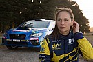 WRC Taylor 'heartbroken' after failure robs her of second title
