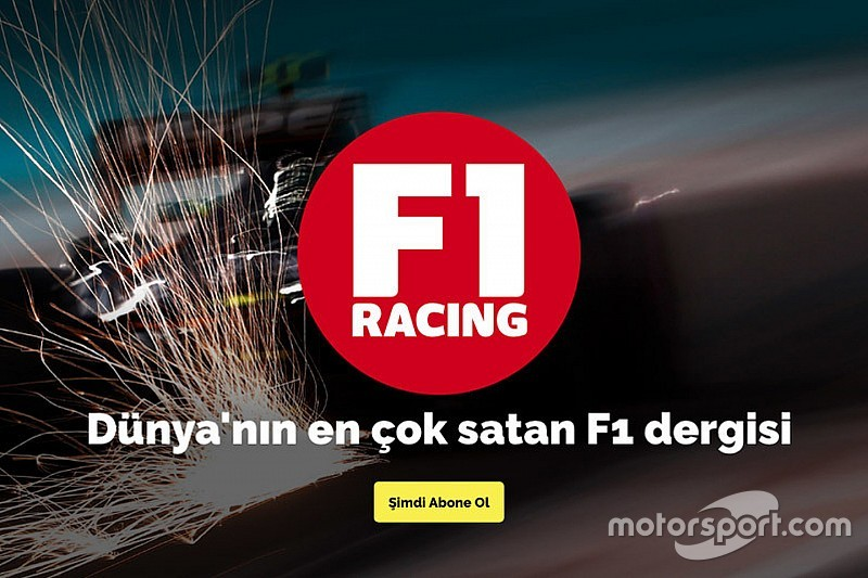 """F1 Racing'de bu ayın """"misafir yazar"""" konusu belli oldu!"""