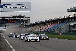 DTM Testbericht DTM-Test in Hockenheim: Mercedes am zweiten Tag vorn