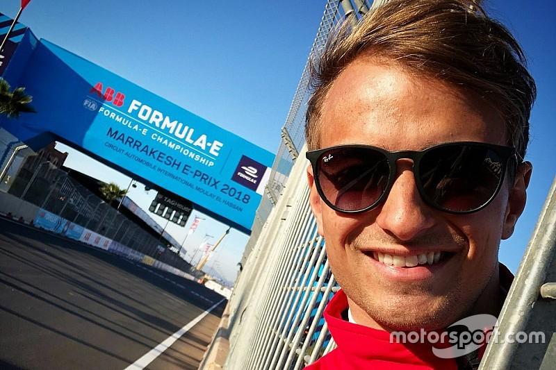 Kutya a pályán: Nico Müller volt a leggyorsabb a Formula E-teszten