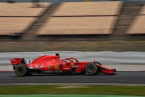 Fórmula 1 Crónica de test Vettel, el más rápido y problemas para McLaren en la quinta mañana de test