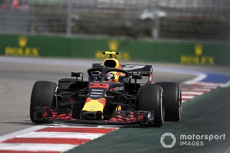 Verstappen penalised for qualifying infringement