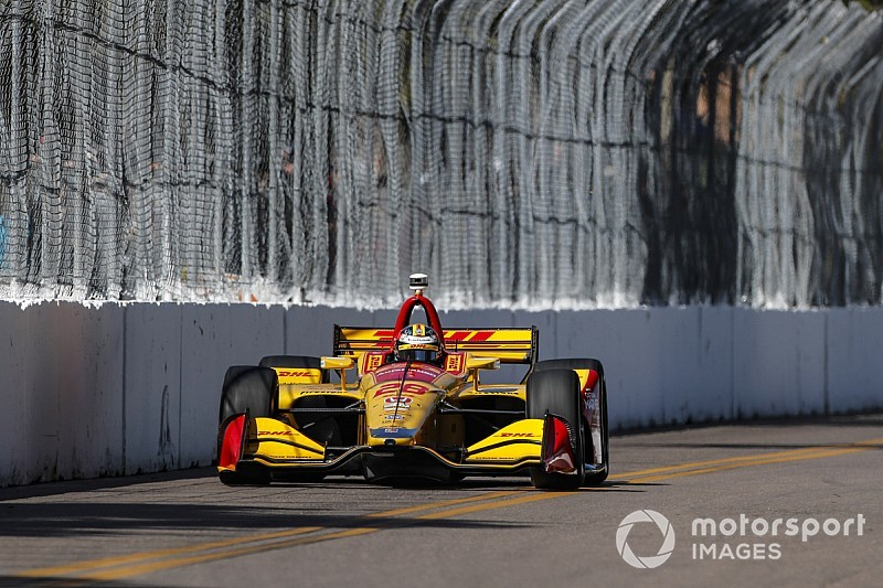 St. Petersburg IndyCar: Hunter-Reay on top again in FP3