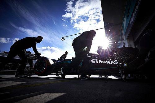 Mercedes modificó unidades de potencia tras los problemas de Bottas