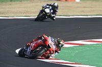 Bagnaia, MotoGP'de vizör bandı için bir kural getirilmesini istiyor