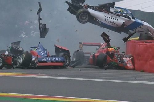 Escalofriante accidente en Spa durante la W Series
