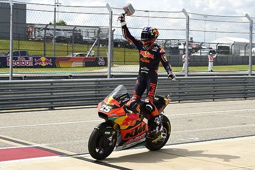 Raúl Fernández iguala a Marc Márquez y persigue el reto que no logró en Moto2