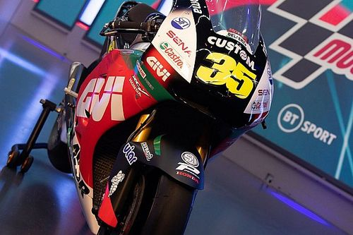 LCR reveals Crutchlow's livery for 2020 season