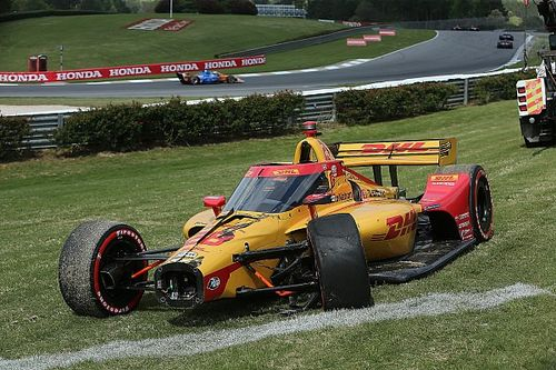 Hunter-Reay opens up on aeroscreen's role after Barber crash