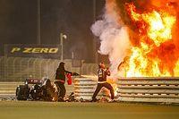 VÍDEO: Veja acidente de Grosjean, com explosão e Haas partida ao meio