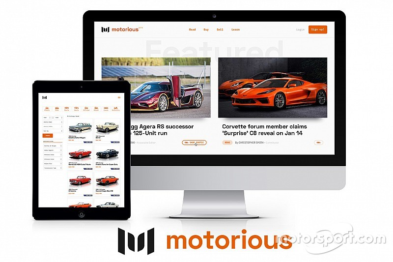 Motorsport Network and Speed Digital launch Motorious.com