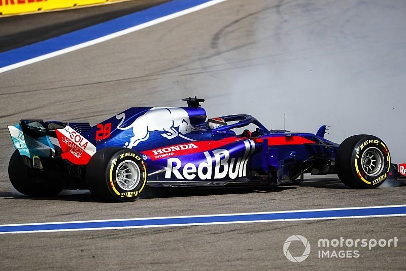 Toro Rosso explica causa de rodadas no GP da Rússia