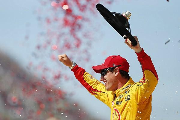 NASCAR Michigan: Joey Logano'dan sezonun ilk zaferi