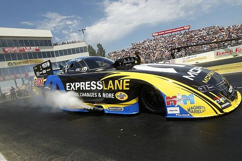 Why did NHRA change its oil-down policy?
