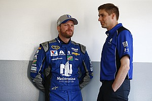 NASCAR Cup Interview Ives doing his best to balance substitute drivers in Earnhardt's absence