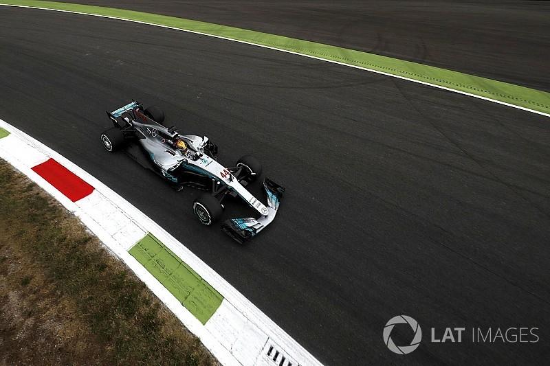 Mercedes sobra e Hamilton lidera primeiro treino em Monza