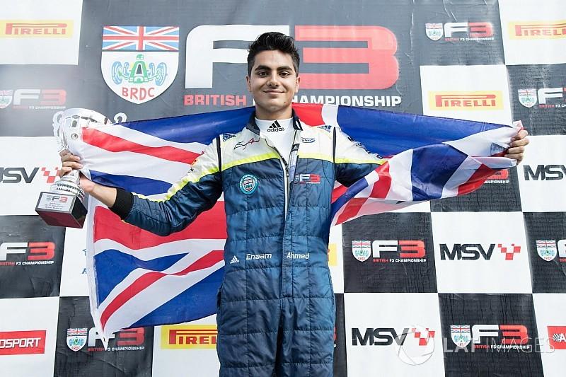 Ahmed égale Senna et devient le plus jeune Champion de British F3